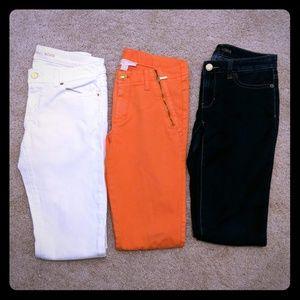 3 pairs of Michael Kors pants/jeans